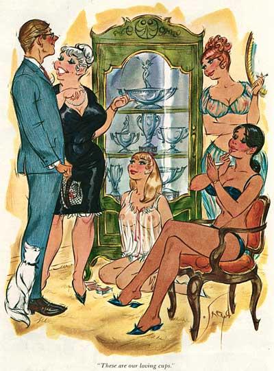 Doug Sneyd Playboy Cartoons