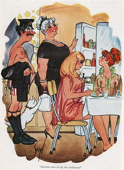 Doug Sneyd Playboy Cartoons