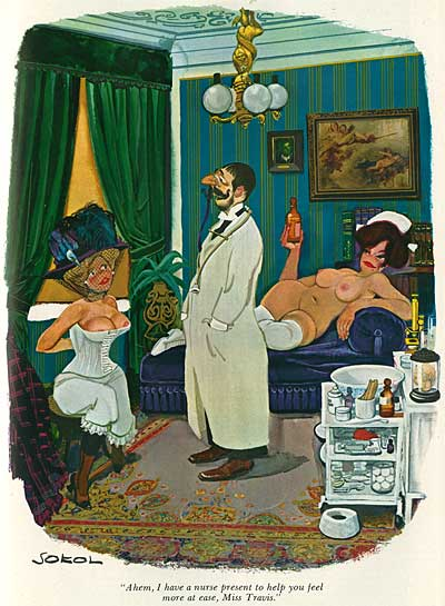 Erich Sokol Playboy Cartoonist