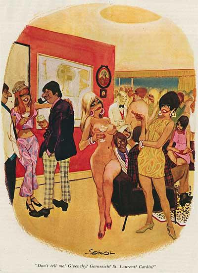 Erich Sokol Playboy Cartoonist