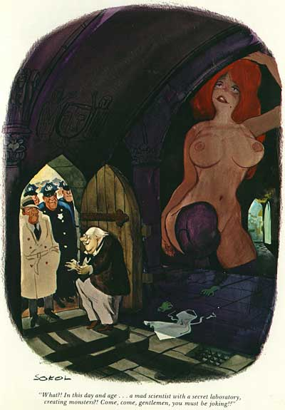 Erich Sokol Playboy Cartoons