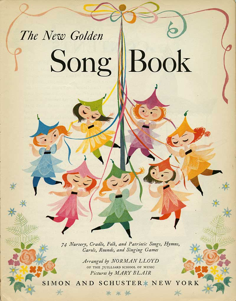 Book Cover Illustration Quotes : Illustration mary blair song book animationresources