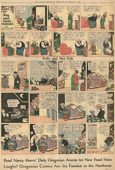 Cliff Sterrett Polly and her Pals