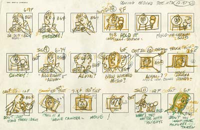Cartoon Story The Rough Board