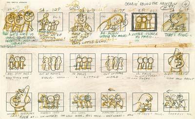 Cartoon Story The Rough Board