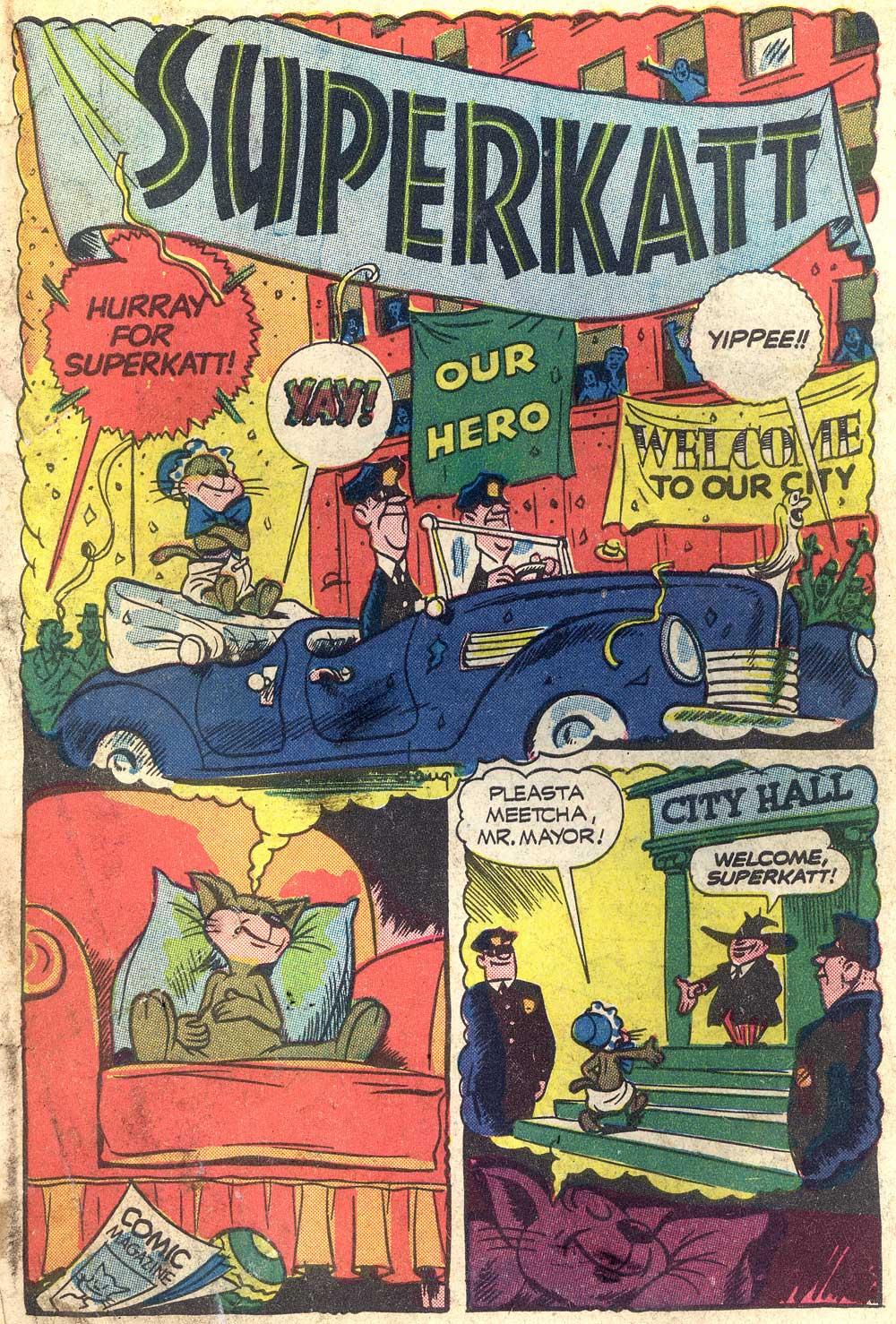 Comic Books: Dan Gordon's SuperKatt - AnimationResources ...