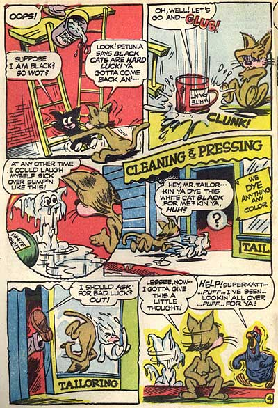 Dan Gordon Superkat Comics