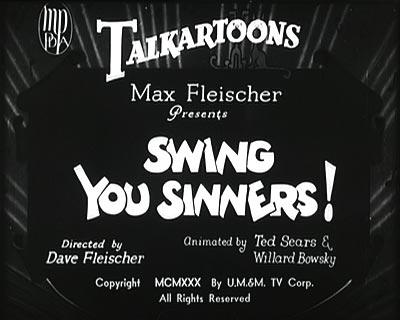 Swing You Sinners
