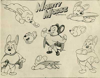 Terrytoons Model Sheets
