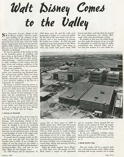 Valley Progress: Disney Comes To The Valley