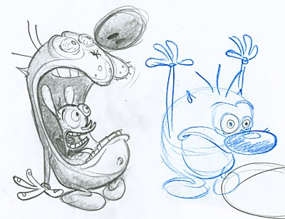 Vincent Waller Ren and Stimpy