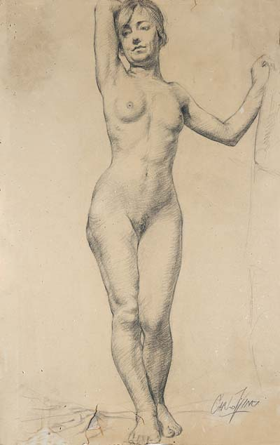 Carlo Vinci Life Drawing