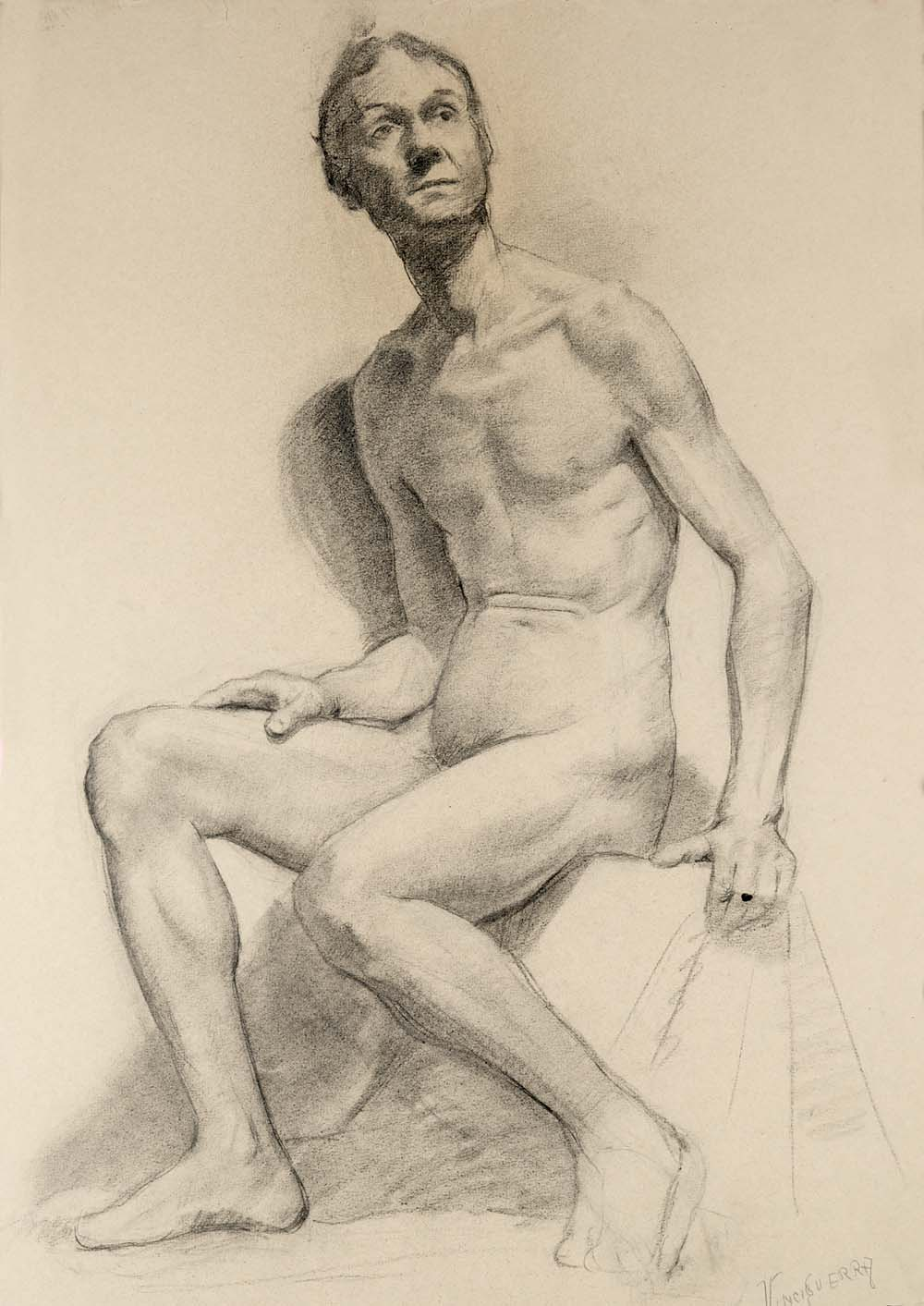 Exhibit: Carlo Vinci's Student Life Drawing