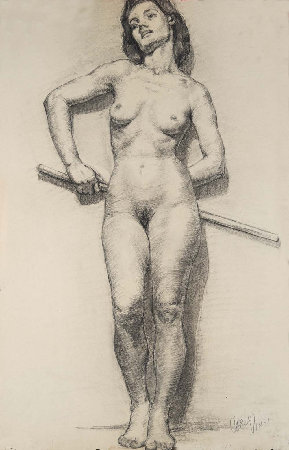 Exhibit: Carlo Vinci\'s Student Life Drawing - AnimationResources.org ...