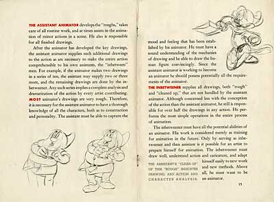 Disney Artists Tryout Book