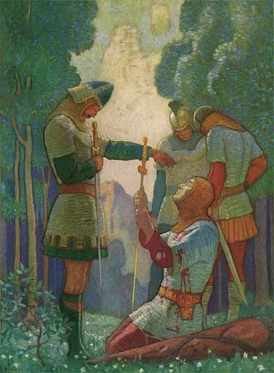 N C Wyeth Legends of Charlemagne