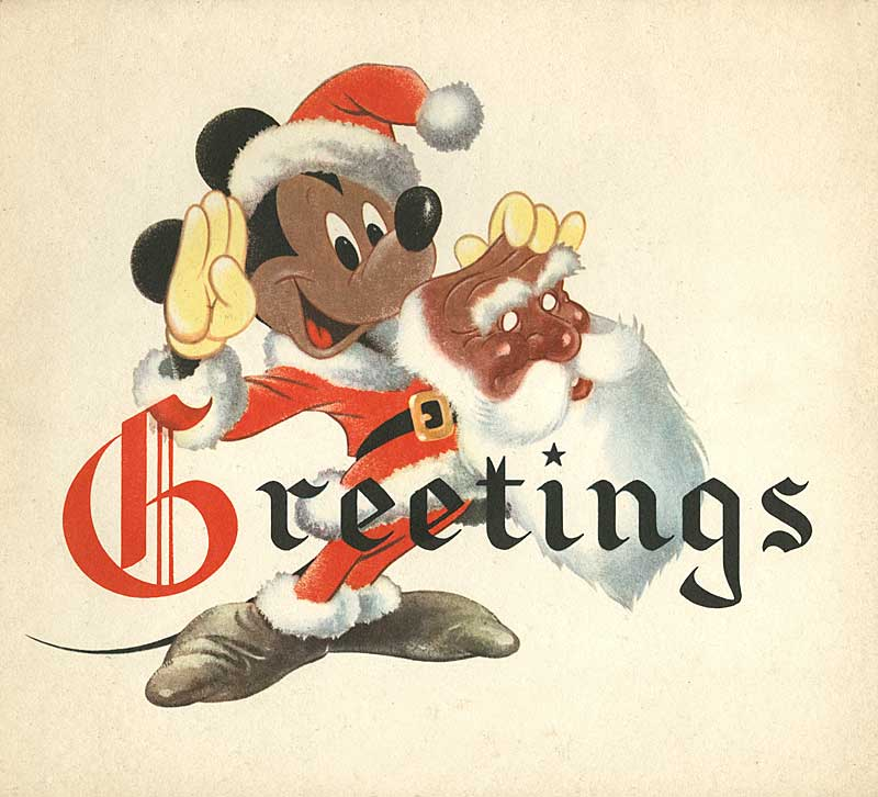 Disney Christmas Cards.Illustration Disney Christmas Cards Animationresources