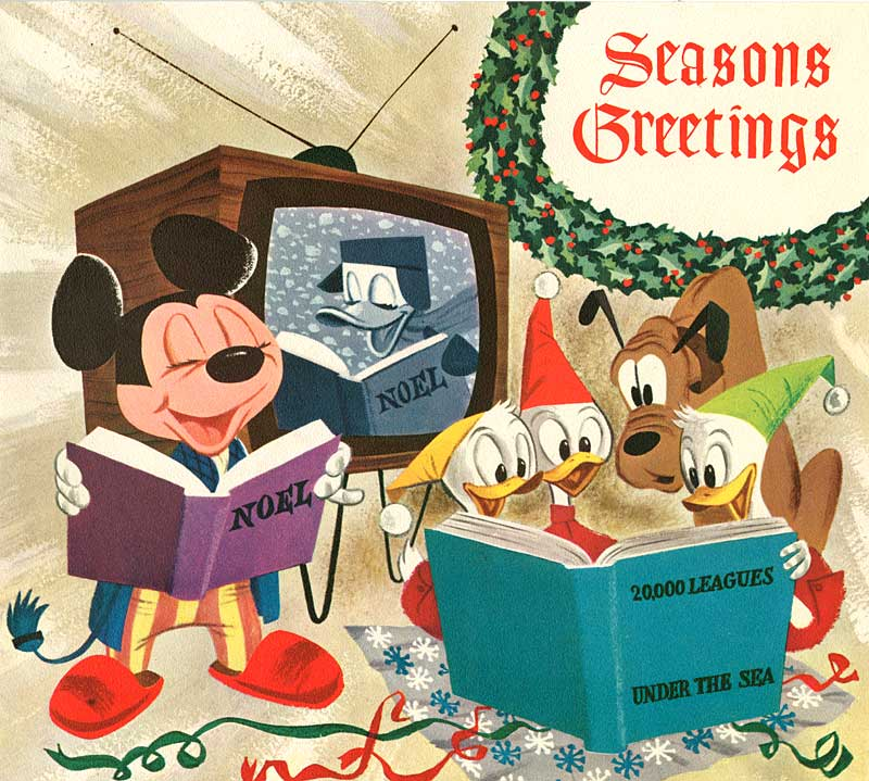Illustration: Disney Christmas Cards - AnimationResources.org ...