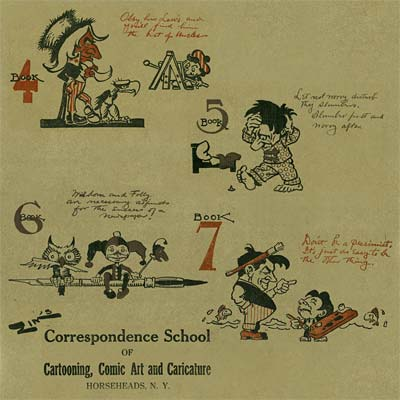 The Zim Cartooning and Caricature Correspondence Course