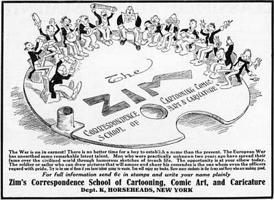 The Zim Book on Cartooning