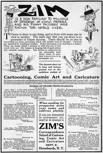 The Zim Book on Cartooning
