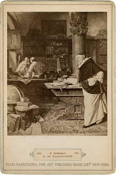 Monks by Eduard von Grutzner